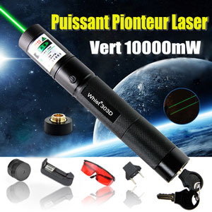 laser stylo 10000mw vert ultra puissant