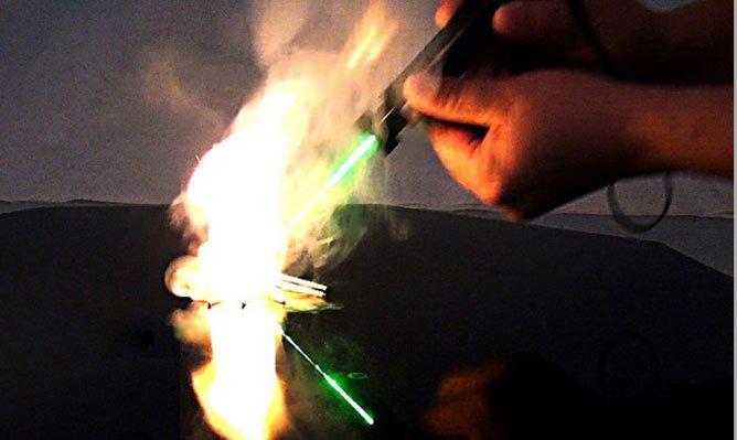 laser etoile