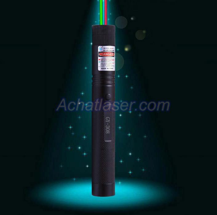 htpow vente pointeur laser puissant vert 1000mw et rouge 500mw 2 en 1 meilleure vente pas cher. Black Bedroom Furniture Sets. Home Design Ideas
