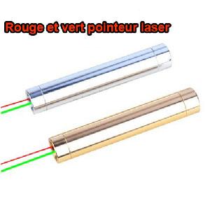 achat htpow pointeur laser rouge et vert 200mw puissant deux couleurs. Black Bedroom Furniture Sets. Home Design Ideas