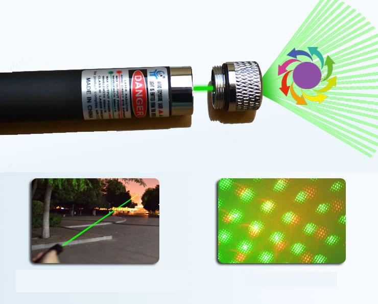 deux couleurs pointeur laser rouge et vert 100mw etoile 2 en 1. Black Bedroom Furniture Sets. Home Design Ideas