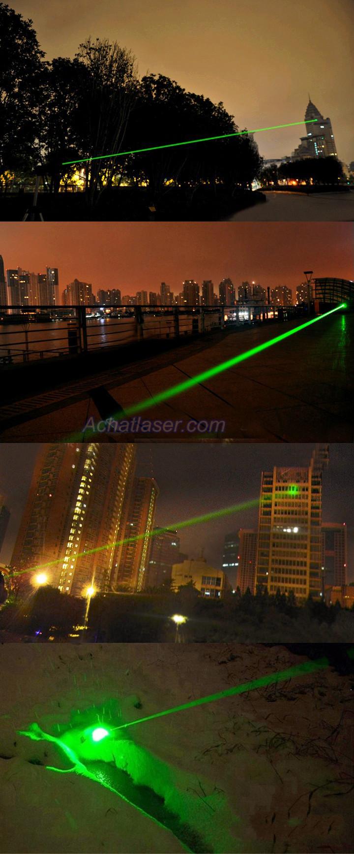 Pointeur Laser 3000mW vert