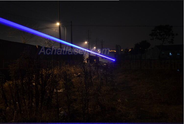 2000mW Pointeur Laser bleu d'étoile