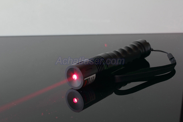 lampe torche laser 200mw rouge
