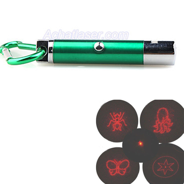 pointeur laser rouge 1mw 650nm avec LED