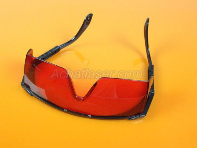 lunettes de protection du pointeur laser vert