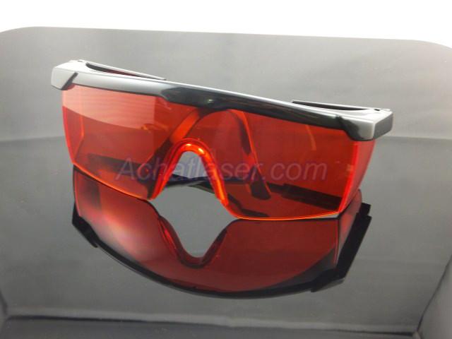 lunettes de protection pour lampe torche laser rouge