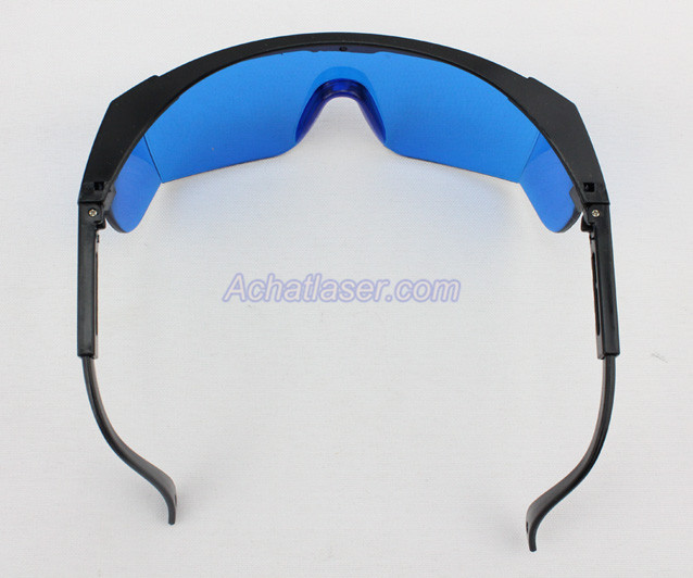lunette protection laser rouge