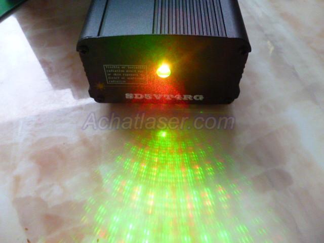 Projecteur de lumi re laser vert rouge for Laser projecteur