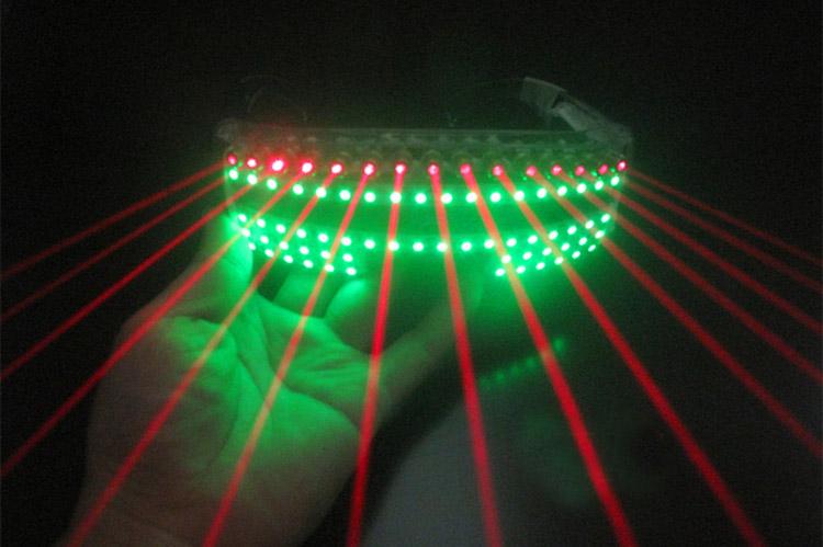 LED clignotant verres