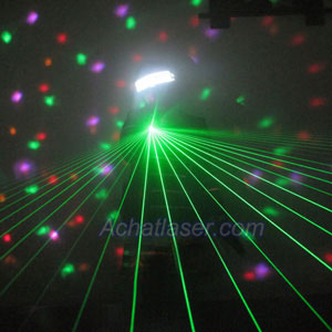 Gants laser vert 40 lignes(une paire)