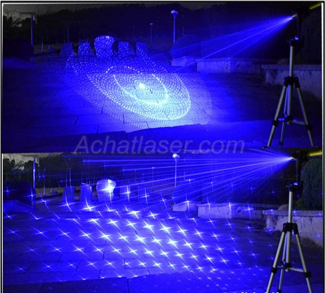 2000mw 450nm focusable blue laser pointer
