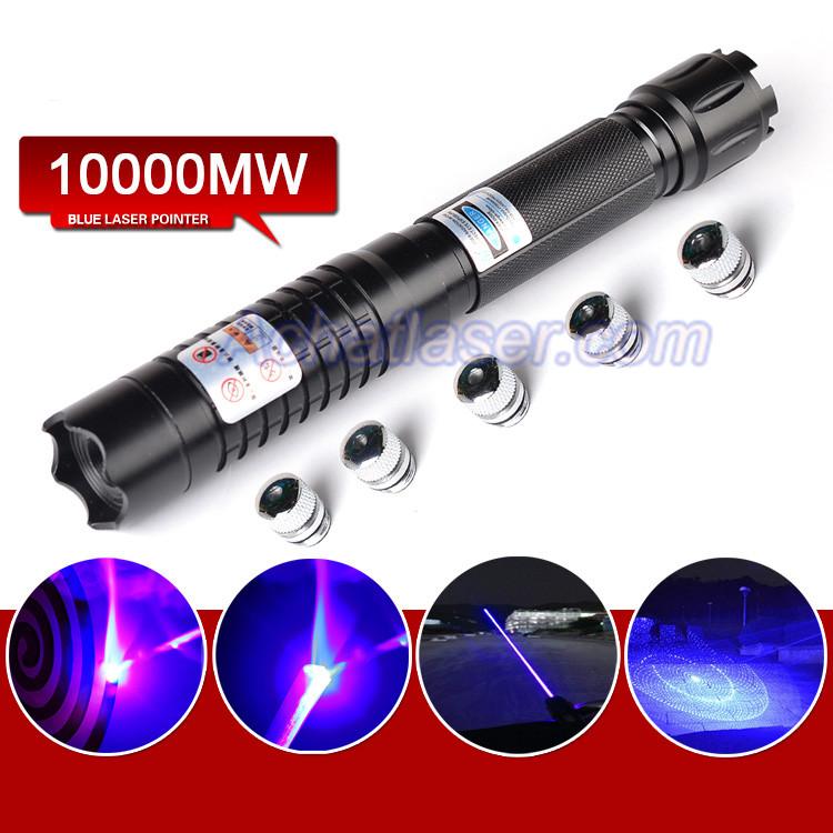 pointeur Laser bleu 10W