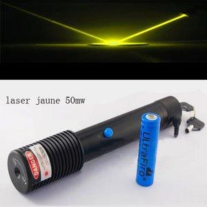 laser jaune 50mw