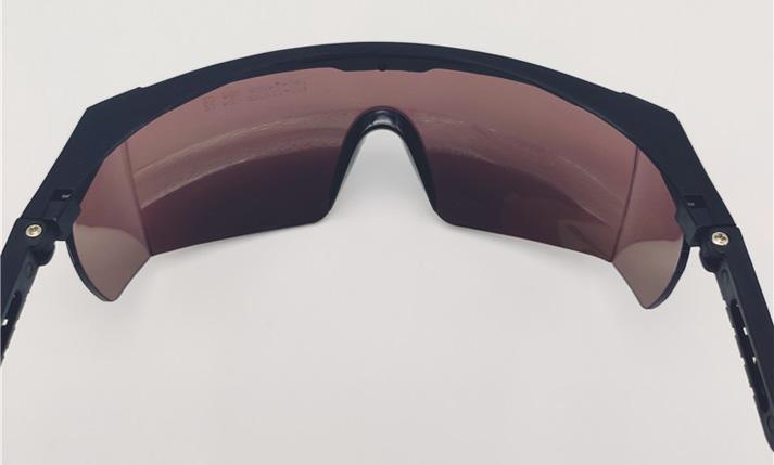 Laser Eye Protection Lunettes de sécurité Lunettes de protection pour UV Lasers avec étui 190 To 540 Presque comme neuf
