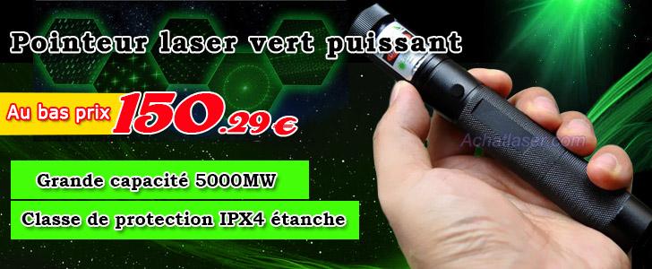 Pointeur Laser Puissant Pointeur Laser Puissant 5000mw
