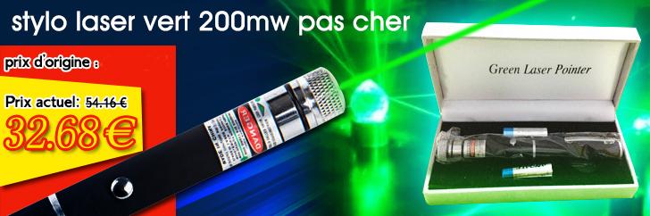 laser vert 200mw pas cher